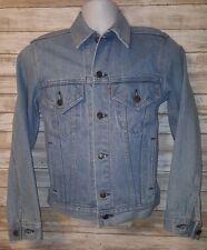 VTG USA Levi's 70506 0211 Men's XS Denim Jean Trucker Jacket