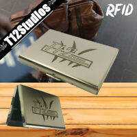 T12 Stainless Steel Men's RFID Blocking Wallet - Slim Credit Card Holder Case