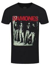 Ramones T-shirt Rocket To Russia Men's Black