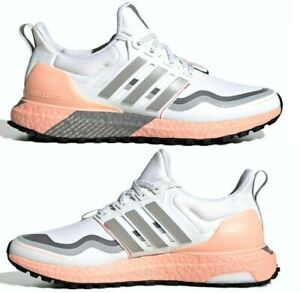 Adidas Ultraboost Guard FW5481 Women's Trail Running Shoes White/Pink Size 8.5