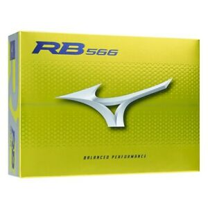 Mizuno RB 566 Yellow Golf Balls 1 Dozen -  Box of 12