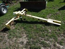 Homemade Grader Box Blade for a John Deere M, MT Tractor, Belly Mount, Tag #948