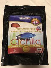 NorthFin Premium Fish Food Cichlid Formula 2mm Pellets 500g New EXP 2022