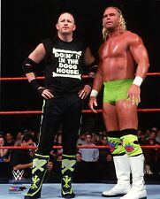 "WWE PHOTO NEW AGE OUTLAWS 8x10"" OFFICIAL WRESTLING PROMO ROAD DOGG & BILLY GUNN"