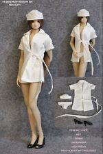 Rare 1/6 Scale Nurse Clothes Sex Girl Cosplay For Hot Toys Figure Body