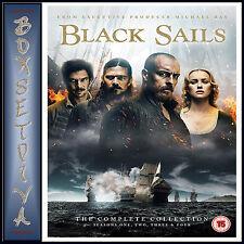 Black Sails Complete Series 1 4 DVD