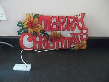 Christmas Decorative LED Merry Christmas Silhouette - New