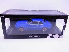 64417 Minichamps Ford Capri RS 2600 1970 blau Modellauto 1:18 NEU in OVP