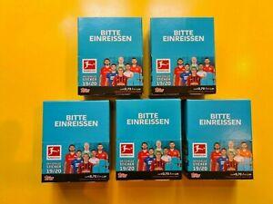 Topps Bundesliga 2019/2020 5 X Display / Per Display 36 Packet