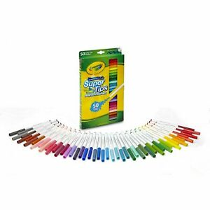 Crayola Washable Super Tips Markers 50 Colors 58-5050