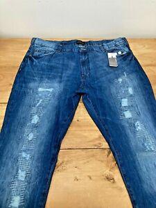 Mens Label-J Blue Indigo Jeans UK Size 44R