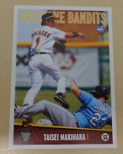 2012/13 Brisbane Bandits(Aussie Baseball) TAISEI MAKIHARA-Fukuoka Softbank Hawks