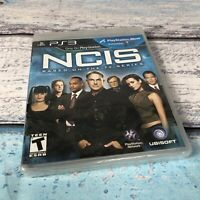 NCIS (Sony PlayStation 3, 2011) PS3 New Sealed