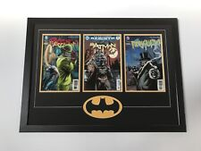 Changeable 3 Comic Batman Frame. Safe Secure Way To Display (Books Not Included)