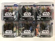 Star Wars Droid Factory SEALED COMPLETE SET OF 6  Build C-3PX Walmart Exclusive