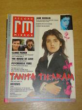 RECORD MIRROR 1988 AUG 20 TANITA TIKARAM PINK FLOYD