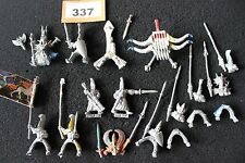 Games Workshop WARHAMMER High Elf Army Figure in metallo JOB LOT SPARES riparazioni A1