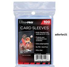 100x Ultra Pro Trading Card Soft Sleeves - Schutzhüllen 100er Packung OVP