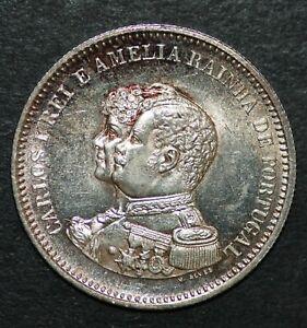 Portugal 1898 200 REIS