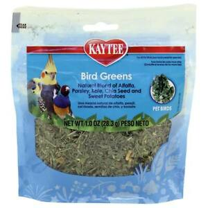 Kaytee Bird Greens Parrot Treat 28g|1oz Budgie African Grey Macaw Amazon Conure