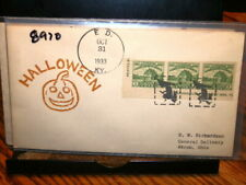 #8970,Halloween Cover,Rare Witch PM,10/31/33 ED KY