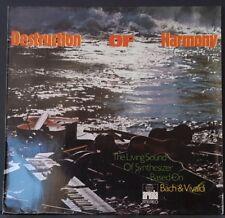 DESTRUCTION OF HARMONY - EBERHARD SCHOENER BACH & VIVALDI GERMAN PRES ARIOLA EX+