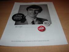 ALICE COOPER - OUI FM!!!!!!!!!!!!!!!!PUBLICITE / ADVERT