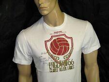 BNWT LAMBRETTA England Football World Cup 66 T-Shirt - White  Medium