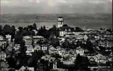 Heiden Appenzell AR Schweiz AK 1961 Panorama See Kirche Wohnhäuser Häuser Stadt