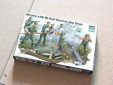 Trumpeter 1/35 #00425 German Field Howitzer Gun Crew