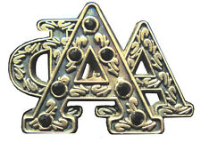 965270618410 Alpha Phi Alpha Heirloom Letters Pin with Onyx