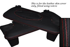 RED STITCH FITS PORSCHE BOXSTER 986 2X SUN VISORS LEATHER COVERS ONLY
