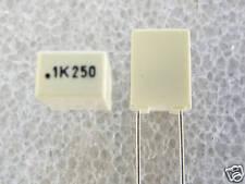 50 condensateurs MKT .1uF 100nF 250V 10% Arcotronic