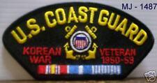 U. S. Coast Guard - Korean War  Veteran Embroidered Patch