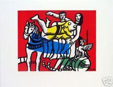 FERNAND LEGER - Le Cirque 1953 Lithograph Print Poster