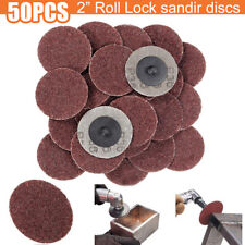 50Pcs 2 inch 36 Grit Aluminum Oxide Sanding Disc Abrasive Sand Paper Tools Parts