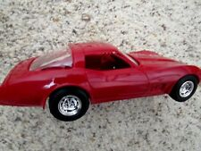 1979 Corvette Coupe GM Factory Original Promo Bright Red Coupe 1:25Th MINT Boxed