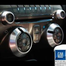 2010-2014 Chevrolet Camaro Billet AC Knob Covers Satin