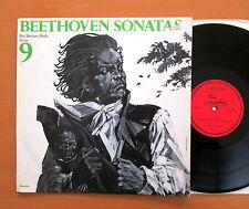UNS 219 Beethoven Sonatas Vol. 9 Paul Badura-Skoda 1969 Unicorn Stereo EX/VG