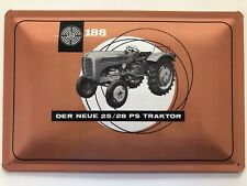 Blechschild 30 X 20 cm Steyr Traktor 25/28 PS Typ 188
