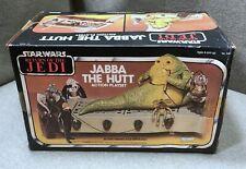 Vintage Kenner Star Wars 1983 Jabba The Hut Action Playset/ Return of The Jedi