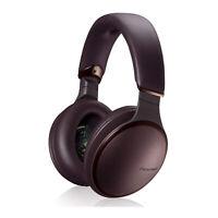Panasonic RP-HD805N Noise Canceling Wireless Over Ear Headphones Brown