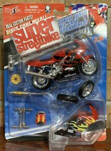 Maisto Super Street Bike HONDA -(RED) CBR600F4I Diecast Model Kit 1:18 Scale