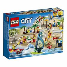 LEGO® City: People Pack, Fun at the Beach Building Play Set 60153 NEW NIB