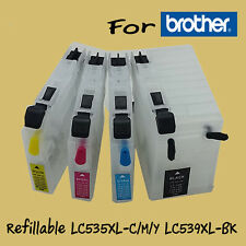 Refillable ink Brother  LC539XL LC-535XL DCP-J100/DCP-J105/MFC-J200
