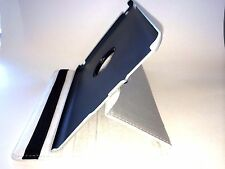 Silver Rotating iPad 4 3 2 Smart Leather Stand Case Cover  + Protector + Stylus