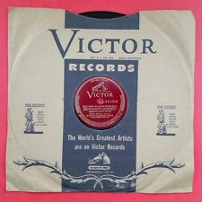 MILIZA KORJUS Tales From Vienna Woods Part 1 & 2 78 rpm Vinyl VG+ Red Seal 4410