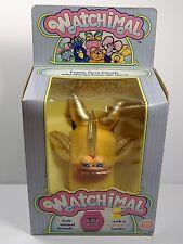 Vintage Watchimal GOLDFISH Plush Watch Toy Hasbro SOFTIES SEALED BRAND NEW 1985