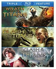 Clash of the Titans (1981) / (2010) / Wrath of the Titans (2012) BLU-RAY NEW