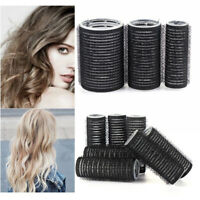 Self Grip Rollers Cling Stick Hair Curler Curls Wave Styling Salon Setting Tool❣
